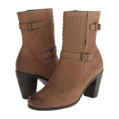 Boots femei ECCO Touch 75 Mid Cut Bootie | 100% originals | Livrare cca 10 zile lucratoare | Aducem pe comanda orice produs din SUA - Cizma dama Ecco, Maro