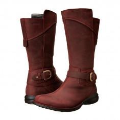 Boots femei Merrell Captiva Buckle-Down Waterproof | 100% originals | Livrare cca 10 zile lucratoare | Aducem pe comanda orice produs din SUA - Cizma dama Merrell, Visiniu