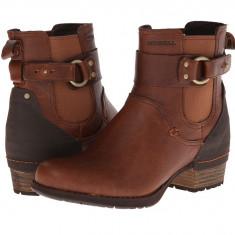 Boots femei Merrell Shiloh Pull | 100% originals | Livrare cca 10 zile lucratoare | Aducem pe comanda orice produs din SUA - Gheata dama Merrell, Maro