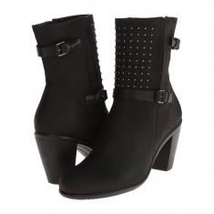 Boots femei ECCO Touch 75 Mid Cut Bootie | 100% originals | Livrare cca 10 zile lucratoare | Aducem pe comanda orice produs din SUA - Cizma dama Ecco, Negru