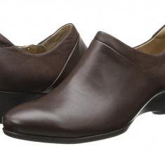 Pantofi cu toc femei ECCO Sculptured 45 W Slip On | 100% originals | Livrare cca 10 zile lucratoare | Aducem pe comanda orice produs din SUA - Pantof dama Ecco, Cu talpa joasa