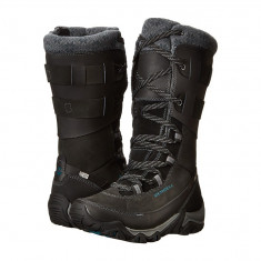 Boots femei Merrell Polarand Rove Peak Waterproof | 100% originals | Livrare cca 10 zile lucratoare | Aducem pe comanda orice produs din SUA - Cizma dama Merrell, Negru