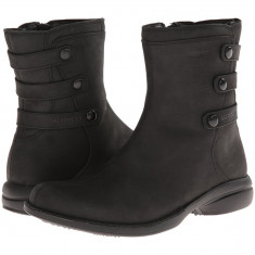 Boots femei Merrell Captiva Launch Mid 2 Waterproof | 100% originals | Livrare cca 10 zile lucratoare | Aducem pe comanda orice produs din SUA - Cizma dama Merrell, Negru