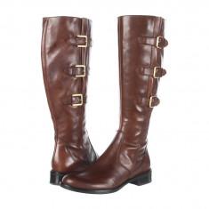 Boots femei ECCO Hobart Buckle 25 MM Boot | 100% originals | Livrare cca 10 zile lucratoare | Aducem pe comanda orice produs din SUA - Cizma dama Ecco, Maro