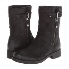 Boots femei Geox Donna New Virna 7 | 100% originals | Livrare cca 10 zile lucratoare | Aducem pe comanda orice produs din SUA - Cizma dama Geox, Negru
