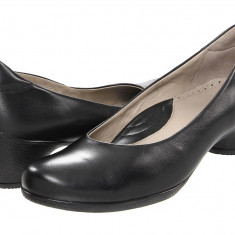 Pantofi cu toc femei ECCO Sculptured Pump | 100% originals | Livrare cca 10 zile lucratoare | Aducem pe comanda orice produs din SUA - Pantof dama Ecco, Cu talpa joasa