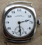 Vind ceas LONGINES EBERHARD MILAN 1920 argint perfect functional