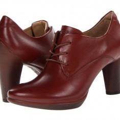 Pantofi cu toc femei ECCO Sculptured 75 Tie | 100% originals | Livrare cca 10 zile lucratoare | Aducem pe comanda orice produs din SUA - Pantof dama Ecco, Cu talpa joasa