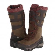 Boots femei Merrell Polarand Rove Peak Waterproof | 100% originals | Livrare cca 10 zile lucratoare | Aducem pe comanda orice produs din SUA - Cizma dama Merrell, Maro