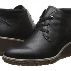 Boots femei ECCO Camilla Wedge Ankle Boot | 100% originals | Livrare cca 10 zile lucratoare | Aducem pe comanda orice produs din SUA - Gheata dama Ecco, Negru