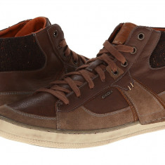 Pantofi sport barbati Geox U Box (Hi Top) | 100% originali | Livrare cca 10 zile lucratoare | Aducem pe comanda orice produs din SUA - Adidasi barbati