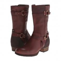 Boots femei Merrell Shiloh Peak | 100% originals | Livrare cca 10 zile lucratoare | Aducem pe comanda orice produs din SUA - Cizma dama Merrell, Visiniu