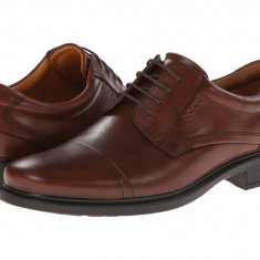 Pantofi barbati ECCO Dublin Cap Toe Tie | 100% originali | Livrare cca 10 zile lucratoare | Aducem pe comanda orice produs din SUA - Pantof barbat