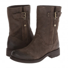 Boots femei Geox Donna New Virna 7 | 100% originals | Livrare cca 10 zile lucratoare | Aducem pe comanda orice produs din SUA - Cizma dama Geox, Maro