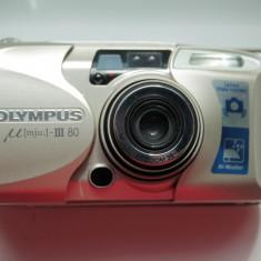 Olympus µ[mju:]-III 80, 35mm - Aparat Foto cu Film Olympus
