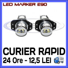 ANGEL EYES LED MARKER - E90, E91 - 6W High Power - ALB 6000K ZDM, Universal