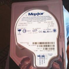Hard Disk Maxtor 40 gb, Sub 40 GB, Rotatii: 7200, IDE