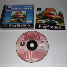 Joc consola Sony Playstation 1 PS1 PS One - The Dukes of Hazzard Racing for Home, Curse auto-moto, Toate varstele, Single player