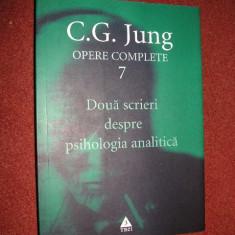 Carl Jung - Opere complete. Vol. 7. Doua scrieri despre psihologia analitica - Carte Psihologie