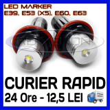 ANGEL EYES LED MARKER - E39, E53 X5, E60, E63 - 5W High Power - ALB 6000K, Universal, ZDM