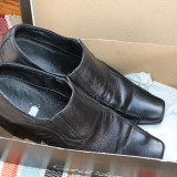 Pantofi piele naturala 42 eleganti Catali Shoes