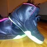 Adidasi Nike Yeezy black - Gheata dama Nike, Culoare: Negru, Marime: 36.5, Negru