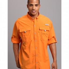 Barbati Columbia Bahama™ II Long Sleeve Shirt | Produs100% original | Livrare cca 10 zile lucratoare | Aducem pe comanda orice produs din SUA - Camasa barbati Columbia, Maneca lunga, Orange