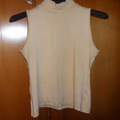 Bluza tip helanca culoare bej marime M - Helanca dama, Marime: M