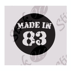 Made in 83_Sticker diverse_Auto_Moto_DIV-176-Dimensiune: 15 cm. X 15 cm. - Orice culoare, Orice dimensiune - Sticker laptop