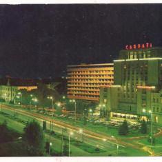 #carte postala(ilustrata)-BRASOV- Hotel Carpati - Carte Postala Transilvania dupa 1918, Necirculata, Printata