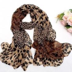 Lenjerie Lady Lust Sexy Accesories Scarf Esarfa Animal Print Leopard - Esarfa, Sal Dama, Culoare: Multicolor, Marime: Marime universala