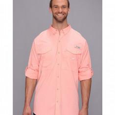 Barbati Columbia Big & Tall Bonehead™ L/S Shirt | Produs100% original | Livrare cca 10 zile lucratoare | Aducem pe comanda orice produs din SUA - Camasa barbati Columbia, XL, Maneca lunga, Somon