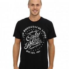 Barbati Diesel T-Balder T-Shirt | Produs100% original | Livrare cca 10 zile lucratoare | Aducem pe comanda orice produs din SUA - Tricou barbati Diesel, Maneca scurta
