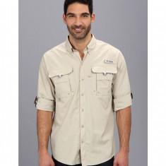 Barbati Columbia Bahama™ II Long Sleeve Shirt | Produs100% original | Livrare cca 10 zile lucratoare | Aducem pe comanda orice produs din SUA - Camasa barbati Columbia, Maneca lunga, Crem