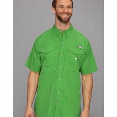 Barbati Columbia Big & Tall Bonehead™ S/S Shirt | Produs100% original | Livrare cca 10 zile lucratoare | Aducem pe comanda orice produs din SUA - Camasa barbati Columbia, XL, Maneca scurta, Verde