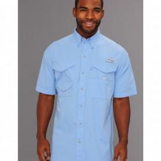 Barbati Columbia Bonehead™ S/S Shirt | Produs100% original | Livrare cca 10 zile lucratoare | Aducem pe comanda orice produs din SUA - Camasa barbati Columbia, Maneca scurta, Bleu