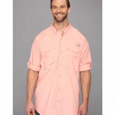 Barbati Columbia Bonehead™ L/S Shirt - Tall | Produs100% original | Livrare cca 10 zile lucratoare | Aducem pe comanda orice produs din SUA - Camasa barbati Columbia, XL, Maneca lunga, Somon