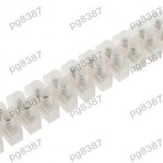 Regleta 12 pini, 130x22mm, 20A - 128933 - Conector