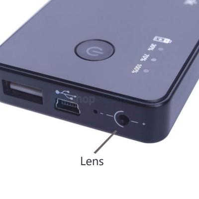 Camera Spion 720P ascunsa in Baterie Externa 3.000mAh, Senzor miscare,Card 16GB foto