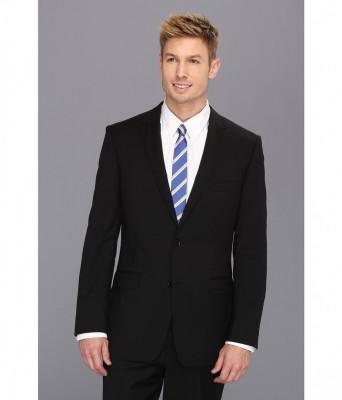 Costume barbati DKNY Black Plain Jacket | Produs100% original | Livrare cca 10 zile lucratoare | Aducem pe comanda orice produs din SUA foto