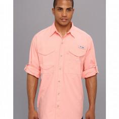 Barbati Columbia Bonehead™ L/S Shirt | Produs100% original | Livrare cca 10 zile lucratoare | Aducem pe comanda orice produs din SUA - Camasa barbati Columbia, Maneca lunga, Somon