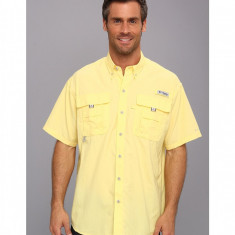 Barbati Columbia Bahama™ II Short Sleeve Shirt | Produs100% original | Livrare cca 10 zile lucratoare | Aducem pe comanda orice produs din SUA - Camasa barbati Columbia, Maneca scurta, Galben