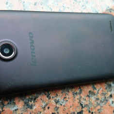 Telefon Lenovo, A820, 4.5 inch, 4 GB, RAM 1 GB, Quad-Core, 4x1, 20 GHz, 8 MP - Telefon mobil Lenovo, Negru, Neblocat, Dual SIM