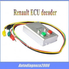 Decodor tester ECU pt. Renault decoder 1994-2001