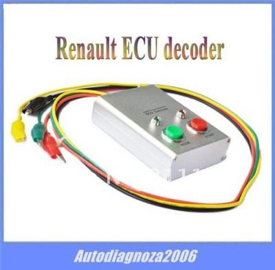 Decodor tester ECU auto pt. Renault decoder 1994-2001 foto