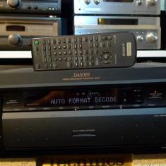 Amplituner (receiver) Sony STR-DA50ES cap de serie, telecomanda, poze reale - Amplificator audio