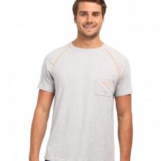 Barbati BOSS Hugo Boss RN T-Shirt Orange Stripe | Produs100% original | Livrare cca 10 zile lucratoare | Aducem pe comanda orice produs din SUA - Tricou barbati, Maneca scurta