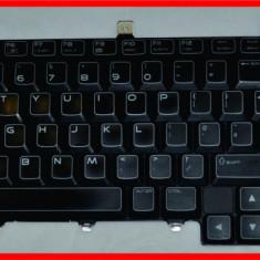 Tastatura ORIGINALA Iluminata Backlit Dell Alienware M17X GMCD3 - Tastatura laptop
