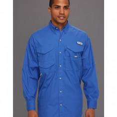 Barbati Columbia Bonehead™ L/S Shirt | Produs100% original | Livrare cca 10 zile lucratoare | Aducem pe comanda orice produs din SUA - Camasa barbati Columbia, Maneca lunga, Albastru