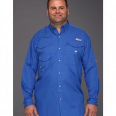 Barbati Columbia Bonehead™ L/S Shirt - Tall | Produs100% original | Livrare cca 10 zile lucratoare | Aducem pe comanda orice produs din SUA - Camasa barbati Columbia, Maneca lunga, Albastru